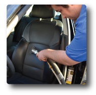 vehicle interior cleaning service